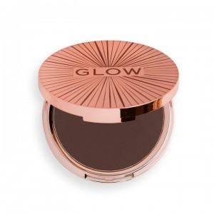Revolution - Bronzer - Glow Collection - Splendour Ultra Matte Bronzer - Deep Dark
