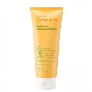 Missha - Schiuma detergente - Sunhada Calendula Soothing Foaming Cleanser