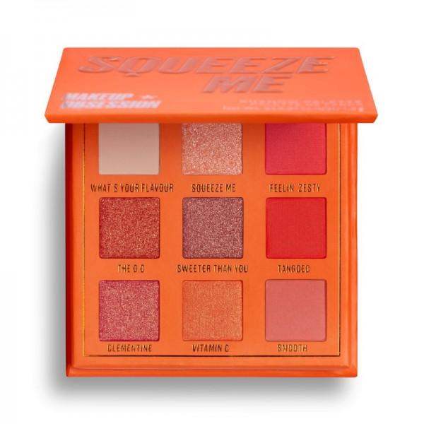 Makeup Obsession - Lidschattenpalette - Squeeze Me Shadow Palette - Mini