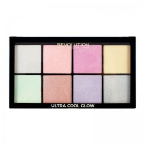Makeup Revolution - Highlighter Palette - Ultra Cool Glow