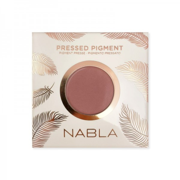 Nabla - Lidschatten - The Matte Collection - Pressed Pigment Feather Edition - Artemisia