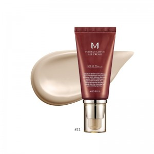 MISSHA - BB Cream - M Perfect Cover BB Cream - SPF42 - No.21/Light Beige - 50ml