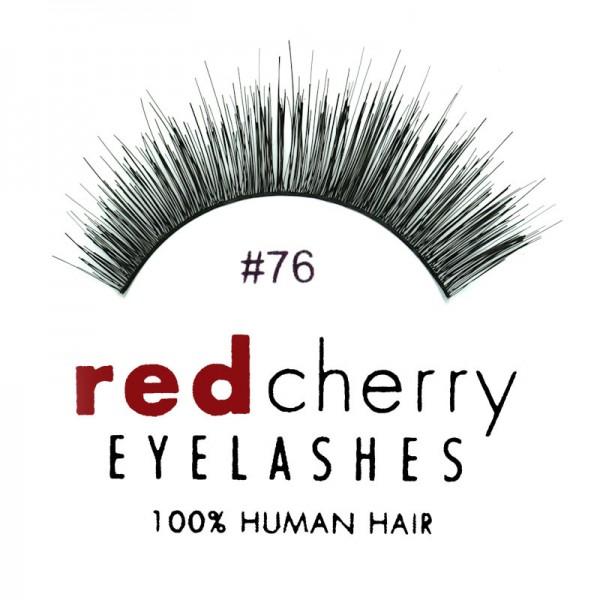 Red Cherry - False Eyeleashes No. 76 Frida - Human Hair
