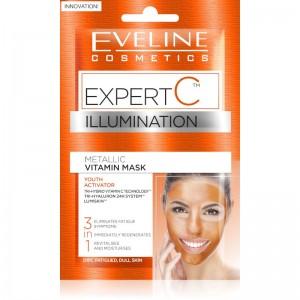 Eveline Cosmetics - Gesichtsmaske - Expert C Illumination Vitamin Gesichtsmaske