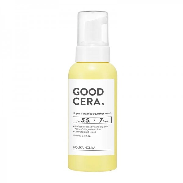 Holika Holika - Gesichtsreinigungsschaum - Good Cera - Super Ceramide Foaming Wash