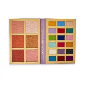 I Heart Revolution - Eyeshadow Palette - Disney Fairytale Books Palette - Ariel