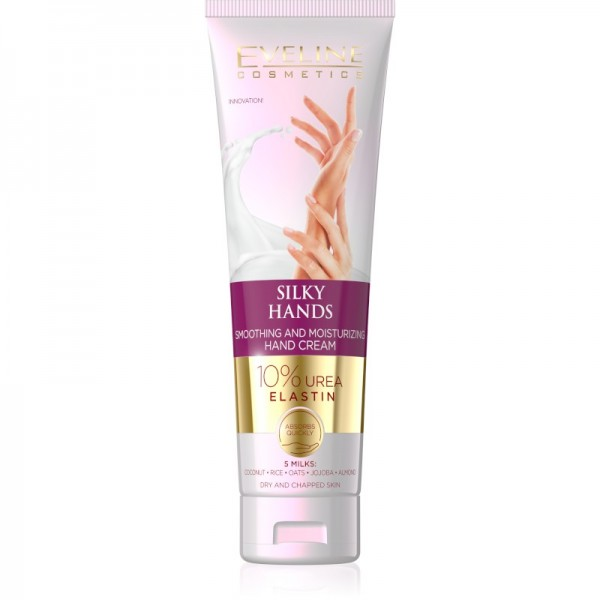 Eveline Cosmetics - Handcreme - Silky Hands Smoothing and Moisturizing Hand Cream