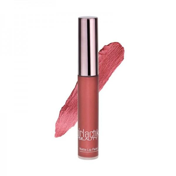 girlactik - Flüssiger Lippenstift - Matte Lip Paint - Crimson