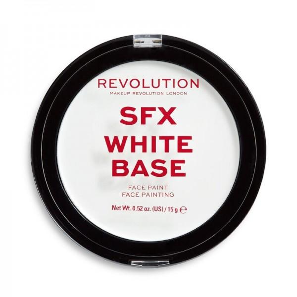 Revolution - Makeup Base - Halloween SFX White Cream Face Base