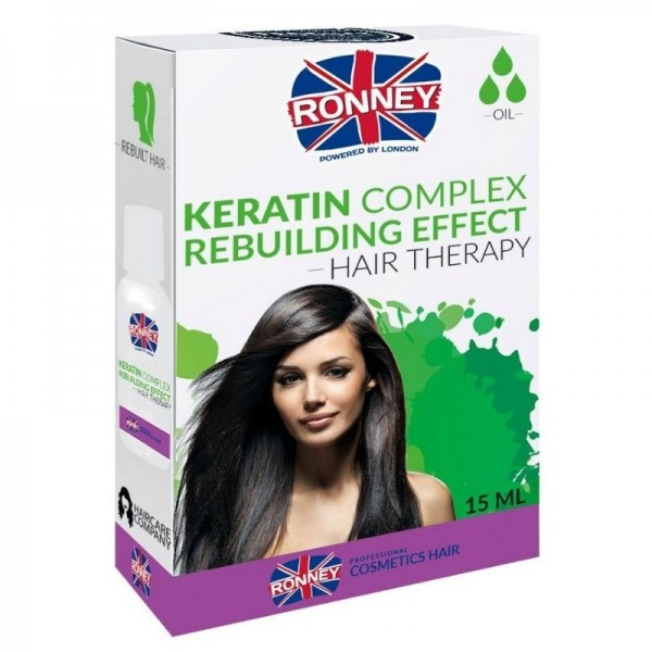 Ronney Professional - Haaröl - Keratin Complex Rebuilding Effect Hair Therapy Oil - 15ml