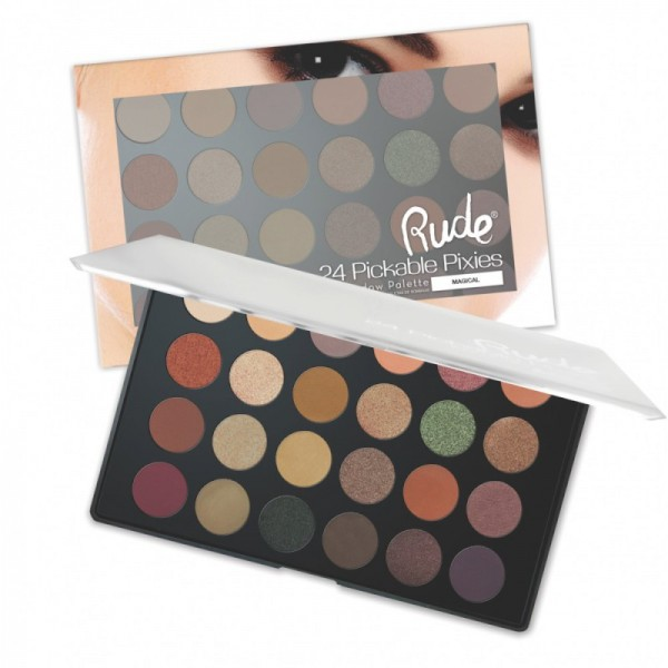 RUDE Cosmetics - Lidschattenpalette - 24 Peekaboo Pixies Eyeshadow Palette - Magical