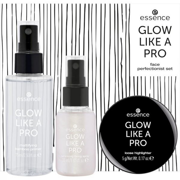 essence - Make Up Set - online exclusives - GLOW LIKE A PRO face perfectionist set 04 - Purple scandal