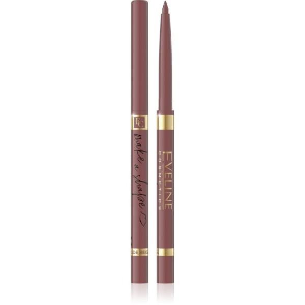 Eveline Cosmetics - Liner per labbra - Make a Shape Automatic Lip Liner - Nude Beige