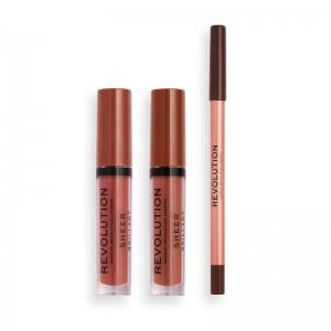 Revolution - Lippenstiftset - Revolution x Tammi Lip Set