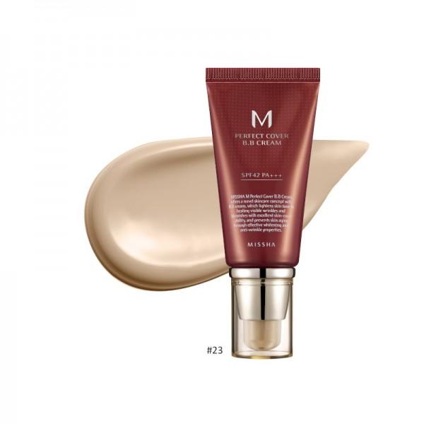 MISSHA - BB Cream - M Perfect Cover BB Cream - SPF42 - No.23/Natural Beige - 50ml