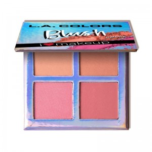 LA Colors - Rougepalette - Blush Palette - Getting Gorgeous