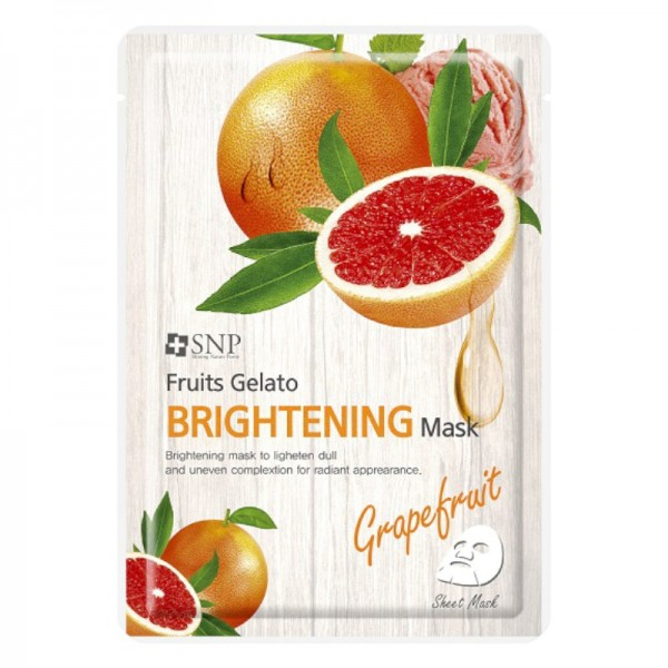 SNP - Fruits Gelato Brightening Mask