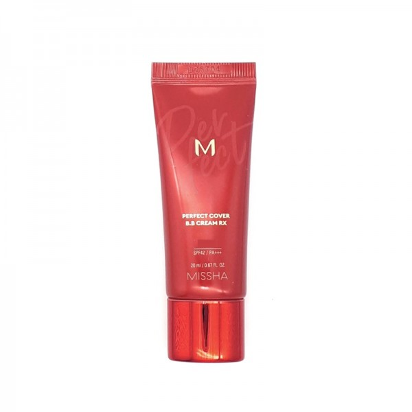 Missha - BB Cream - M Perfect Cover BB Cream RX - SPF42 - No.23 Natural Beige - 20ml