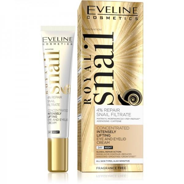 Eveline Cosmetics - Augencreme - Royal Snail Intensely Lifting Eye & Eyelid Cream