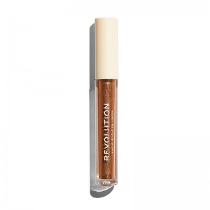 Makeup Revolution - Liquid Lipstick - Nudes Collection Metallic - Corset