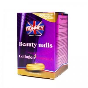 Ronney Professional - Nahrungsergänzungsmittel - Food Supplement Beauty Nails Collagen+ Formula - 60