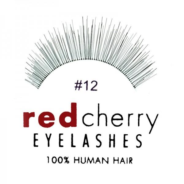 Red Cherry - False Eyelashes No. 12 Angel - Human Hair