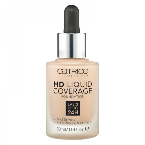 Catrice - Foundation - HD Liquid Coverage Foundation - 020 Rose Beige