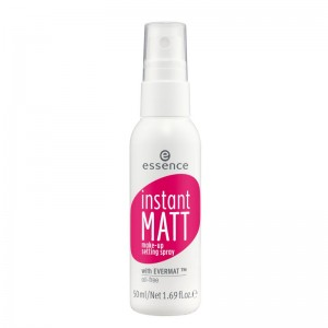 essence - Fixing Spray - instant matt make-up setting spray