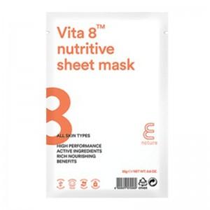 E Nature - Vita 8 Nutritive Sheet Mask