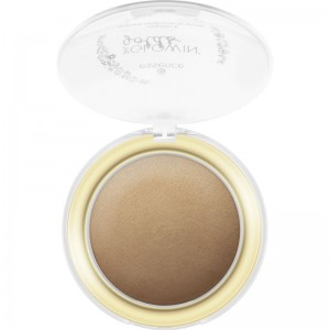 essence - the glowin' golds vitamin E baked luminous bronzer - 01 Live Life Golden!