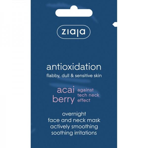 Ziaja - Acai Berry Overnight Face and Neck Smoothing Mask