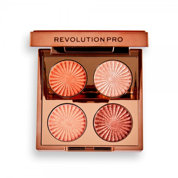 Revolution Pro - Lidschattenpalette - Goddess Glow - Golden Hour