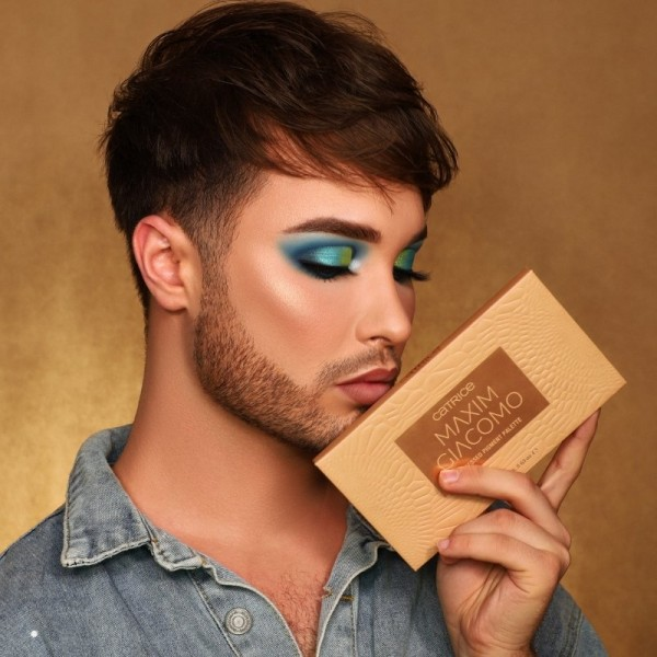 Catrice - Eyeshadow Palette - Maxim Giacomo Pressed Pigment Palette