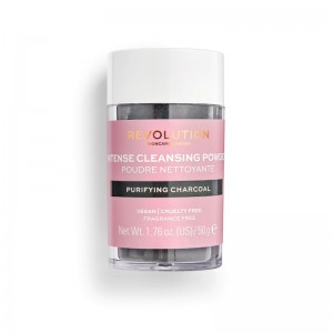 Revolution - Reinigungspuder - Skincare Purifying Charcoal Cleansing Powder