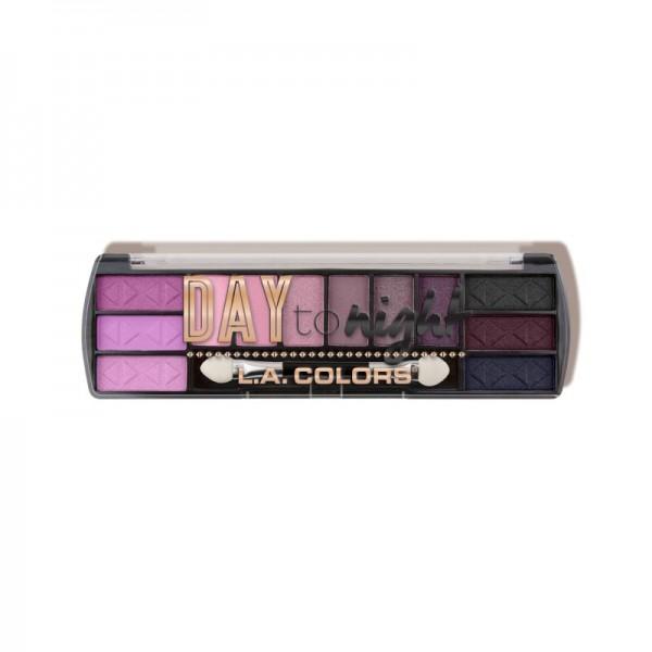 LA Colors - Lidschattenpalette - Day to Night (12 Color Eyeshadow) - Daybreak