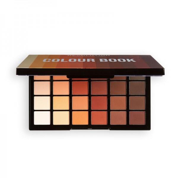 Revolution - Lidschattenpalette - Colour Book Shadow Palette - CB02