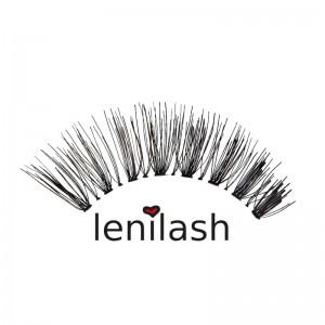 lenilash - False Eyelashes - Black - Human Hair - Nr. 137
