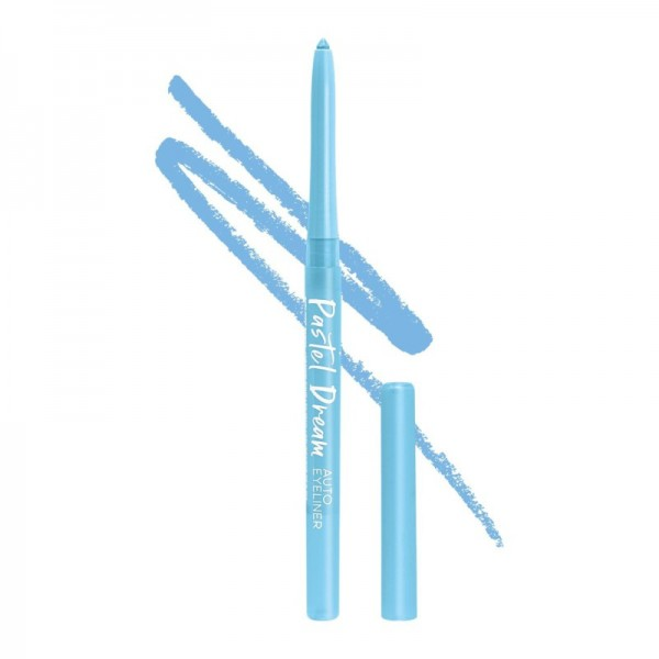 LA Girl - Eyeliner - Dreamy Vibes Collection - Pastel Dream Auto Eyeliner Pencil - Powder Blue