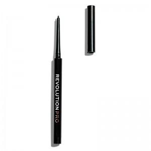 Revolution Pro - Eyeliner Pencil - Ultra Fine Gel Pencil - Blackest Black