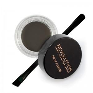 Makeup Revolution - Augenbrauengel - Brow Pomade - Graphite