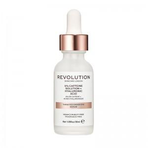 Revolution - Augenpflege - Skincare Targeted Under Eye Serum - 5% Caffeine Solution + Hyaluronic Aci
