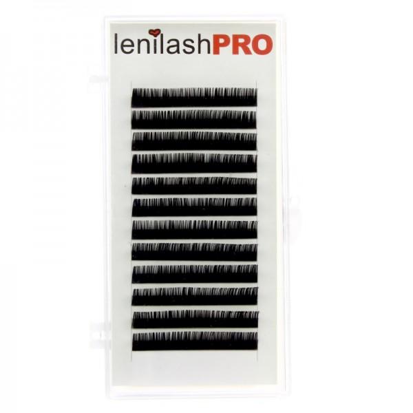 lenilashpro - Einzelwimpern - Silk Lashes - D-Curl - Durchmesser 0,15mm
