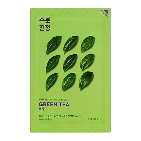 Holika Holika - Gesichtsmaske - Pure Essence Mask Sheet - Green Tea