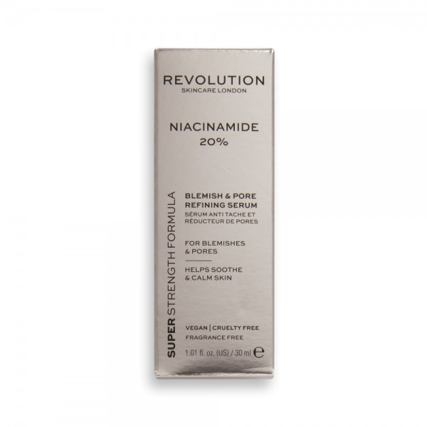 Revolution - Gesichtspflege - Skincare 20% Niacinamide Blemish and Pore Refining Serum