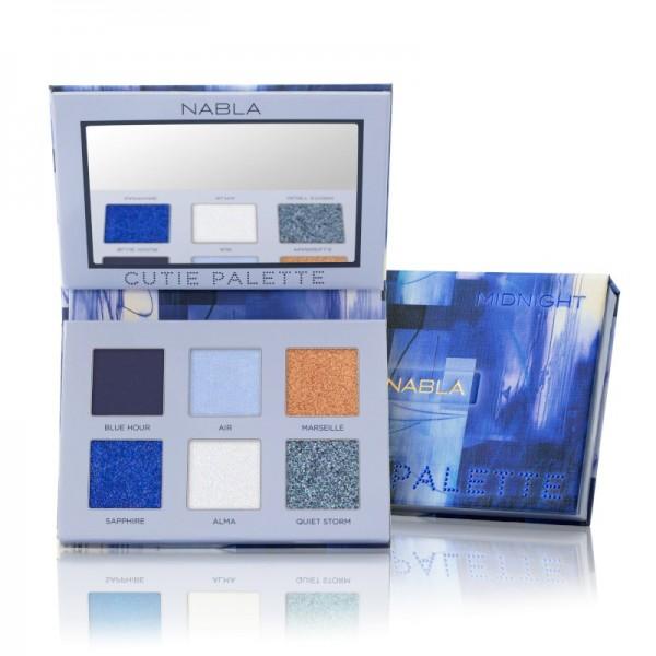 Nabla - Lidschattenpalette - Cutie Collection - Cutie Palette - Midnight