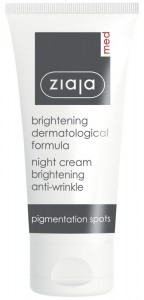 Ziaja Med - Aufhellende Anti-Pigmentflecken Nachtpflege - Brightening Anti Wrinkle Night Cream