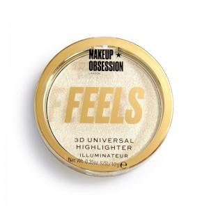 Makeup Obsession - Highighter - Feels Diamond Highlighter - 24K