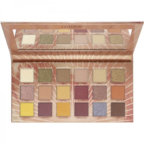 Catrice - Lidschattenpalette - Tansation - Reach Up For The Sunrise 18 Colour Eyeshadow Palette Warm