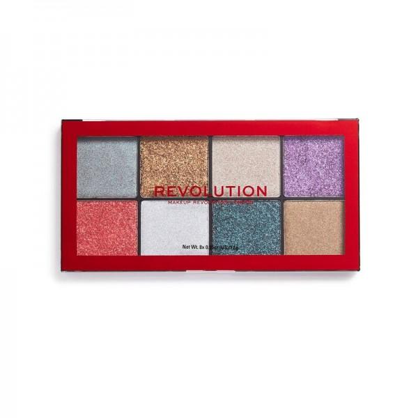 Revolution - Lidschattenpalette - Halloween Possessed Glitter Palette