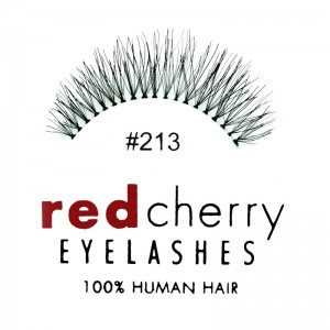 Red Cherry - False Eyelashes No. 213 Harley - Human Hair